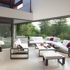 Contemporary Leather Sofas For Sale Wall Behind Sofa Ideas Chakra Modular - Couture Outdoor