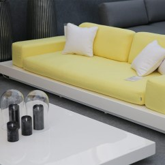 Platform Sofa West Elm Sleeper Sectional Air 2 And 3 Seater Couture Outdoor