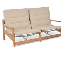 Luxe 2 Seat Sofa Slipcover Essential Twill Ruffle Skirt One Piece Eli Reclining Seater Stellar Couture Outdoor
