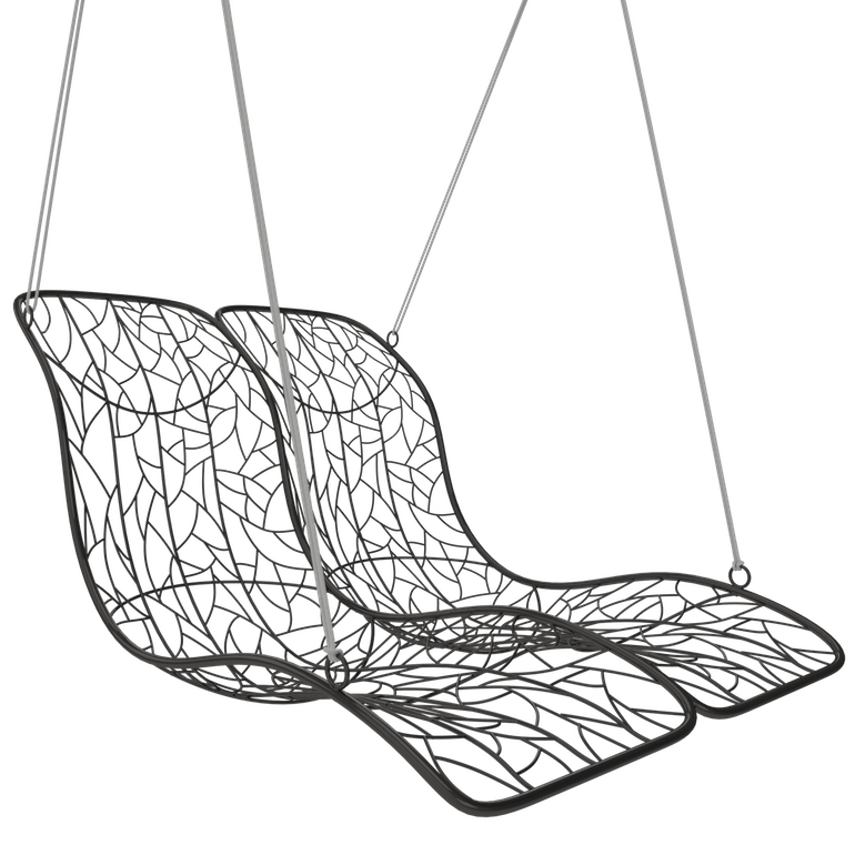 swing chair drawing doctor stool duo modern hanging recliner couture outdoor hammock designer daybed lounge hotel contract furniture luxury 2