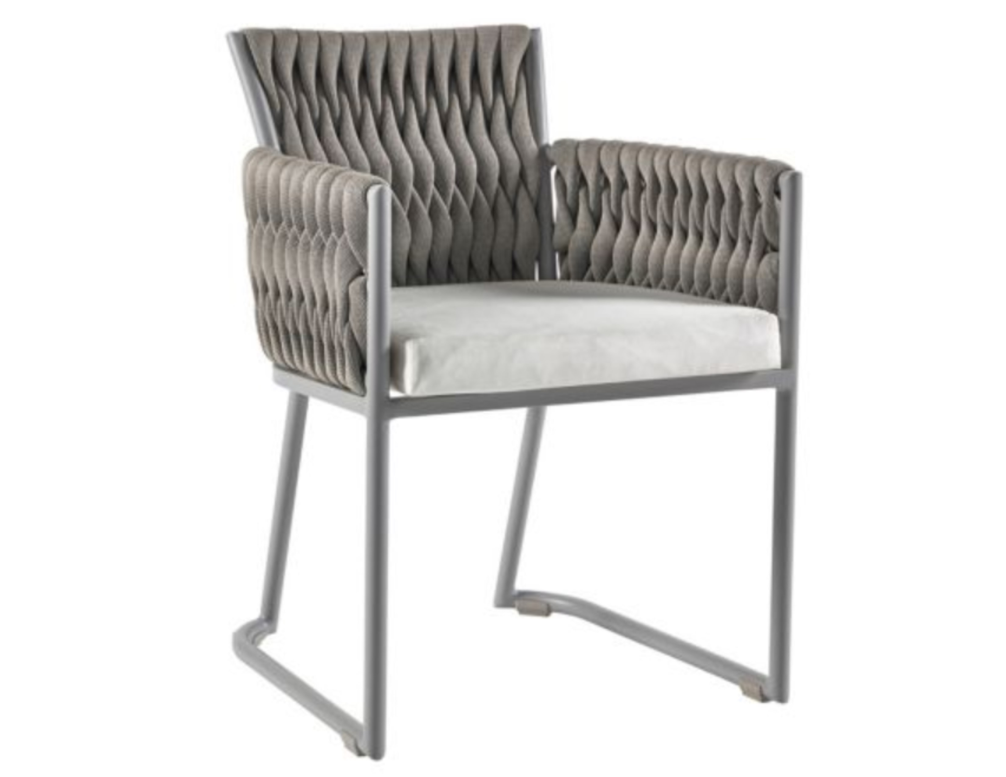 Basket Contemporary Dining Chair  Couture Outdoor