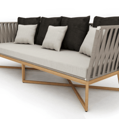 Moods 3 Seater Leather Sofa Bed Taupe Sectional Sofas Ballet Modern Rope Strap Premiere Couture Outdoor Luxury Restaurant Hotels Mood Indoor Contract