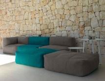 Bella Beanbag Modular Sectional Sofa - Couture Outdoor