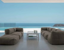 Bella Beanbag Modular Sectional Sofa - Couture Outdoor