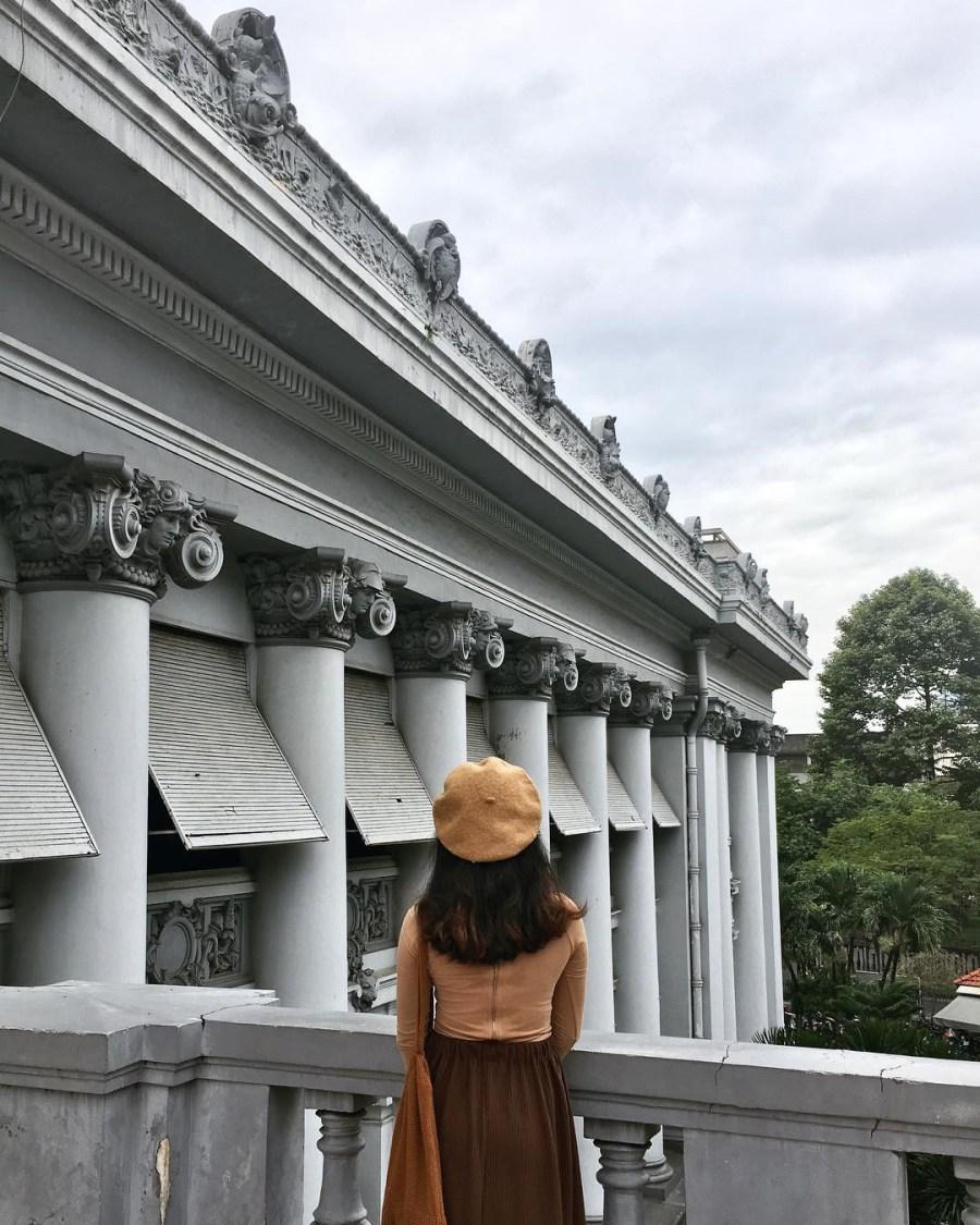 Địa điểm chụp hình so deep cho chuyến đi chơi Sài Gòn buổi sáng