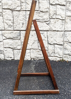 木製スタンド看板T型横