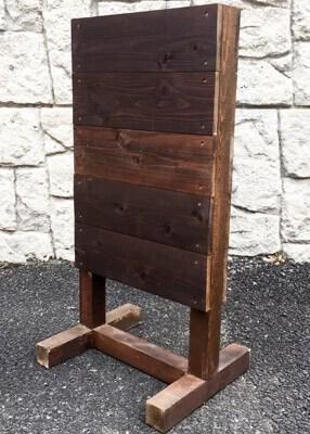 木製スタンド看板T型斜め