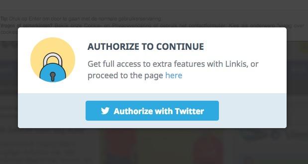 Eerst Twitter toegang geven