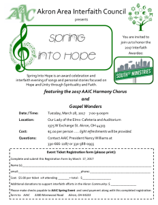 2017 Spring Into Hope