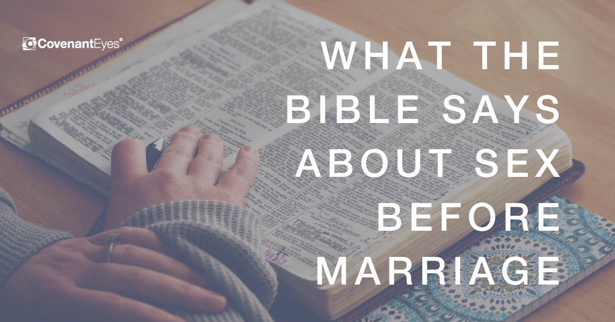 Sexual Sin Before Marriage