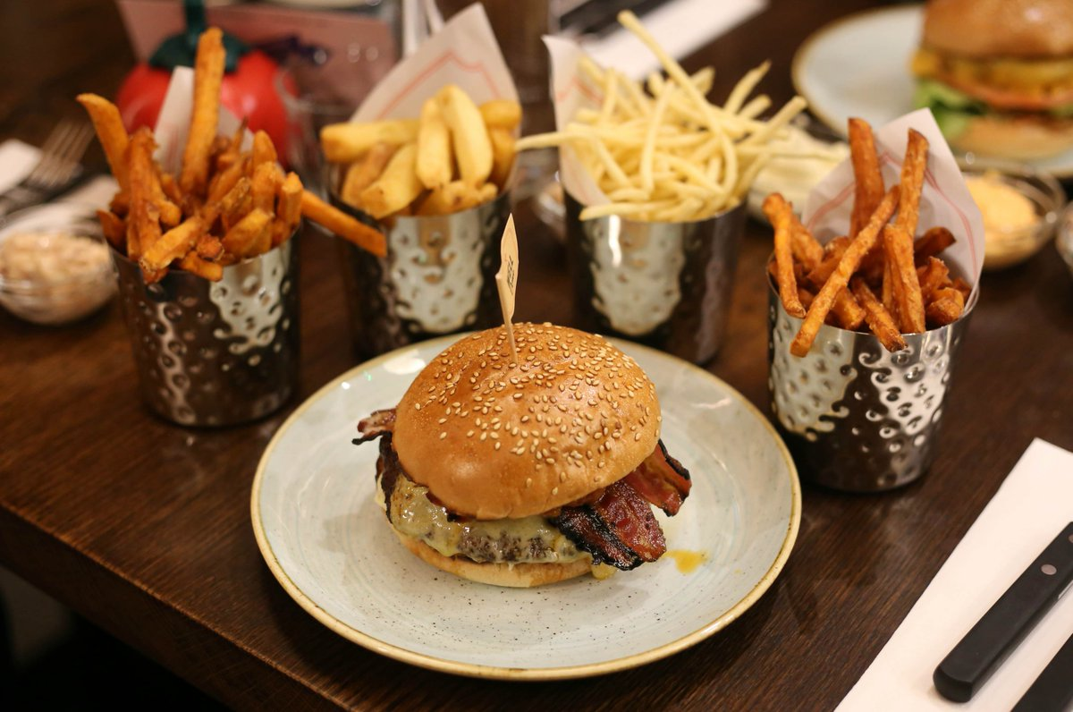 Gourmet Burger Kitchen  Covent Garden London