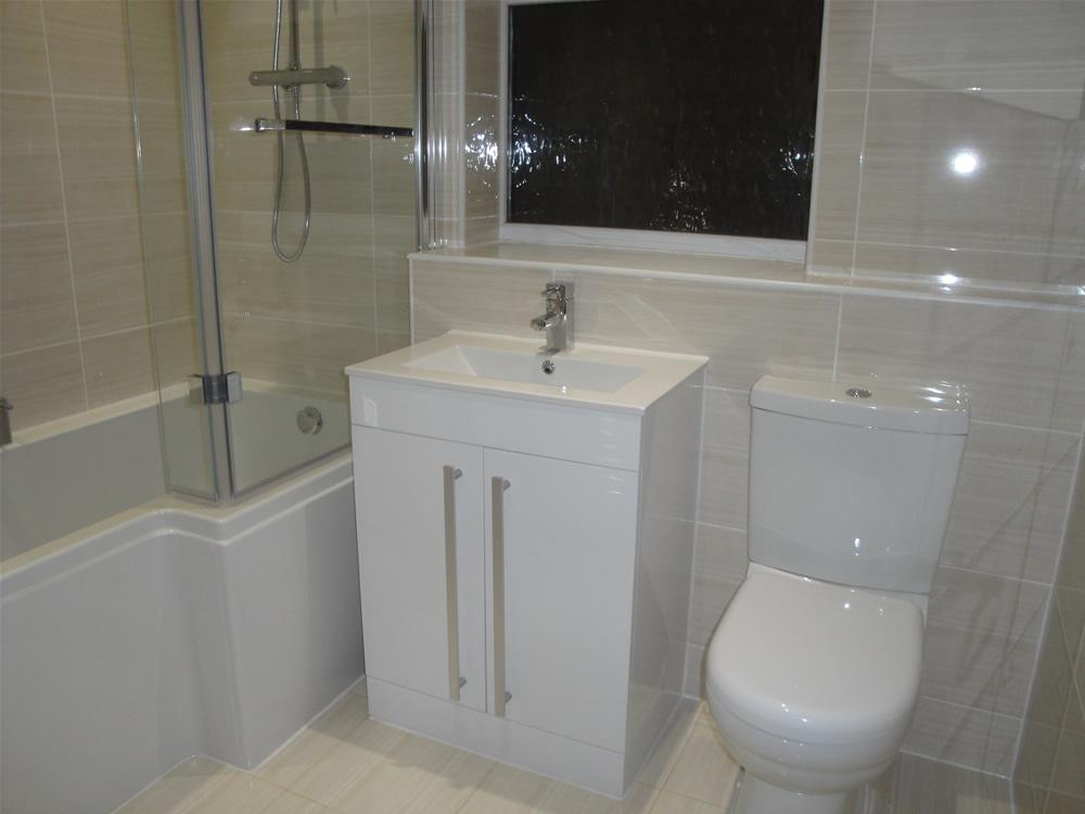 Modernise Coventry new build house bathroom