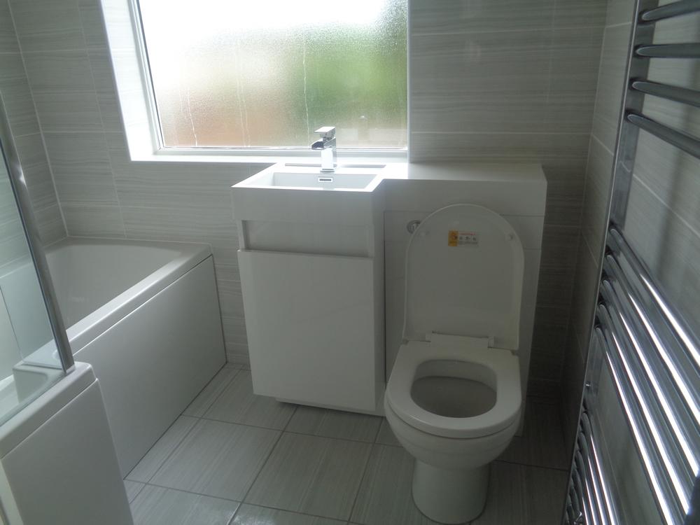 P Shaped Bath Shower Screen