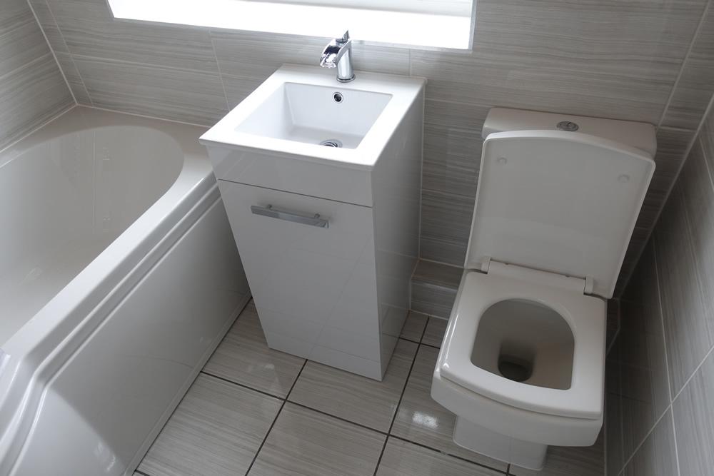 Old Bathroom in Cheylesmore Updated to Modern Bathroom