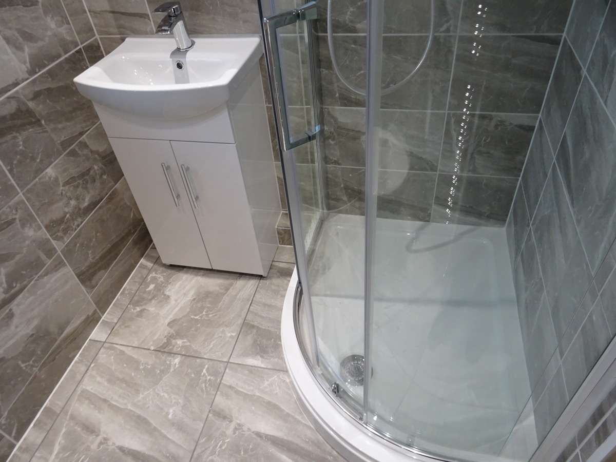 A Small Bathroom To Shower Room Conversion Coventry