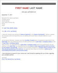 Get the Job with Free Professional Cover Letter Templates  CoverLetterNow