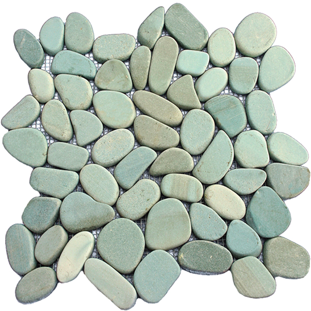 cut pebble tile coverall stone