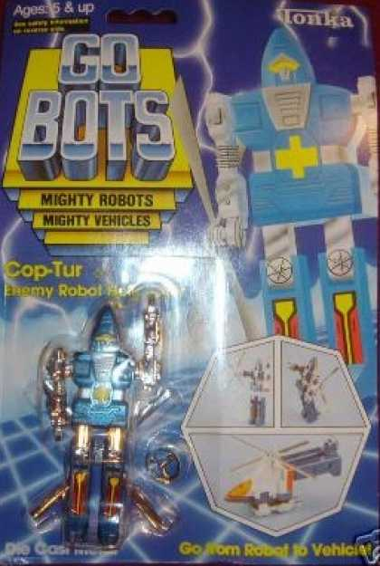 Vintage Gobot MOC