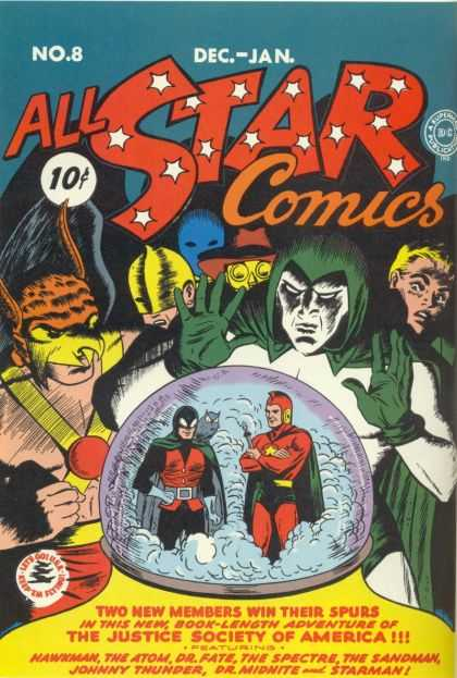 All-Star Comics #8