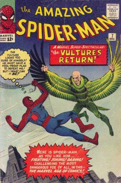 Amazing Spider-Man 7 - Vulture - Flying