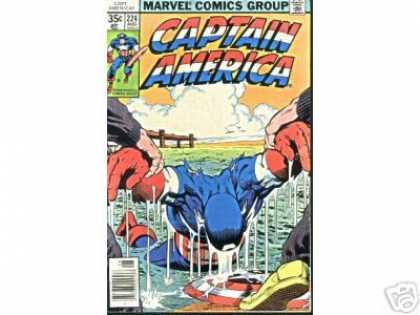 Captain America 224 - Bob McLeod