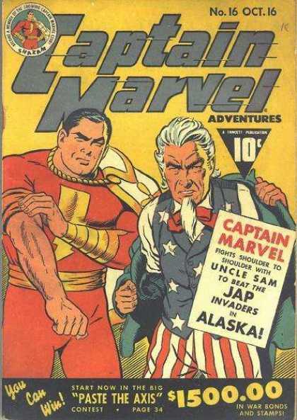 Capt Marvel Advs 16
