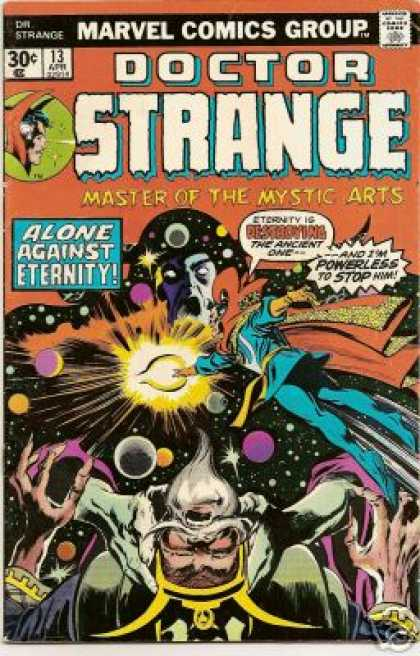 Doctor Strange 13 - Marvel Comics Group - Alone Against Eternity - Master Of The Mystic Arts