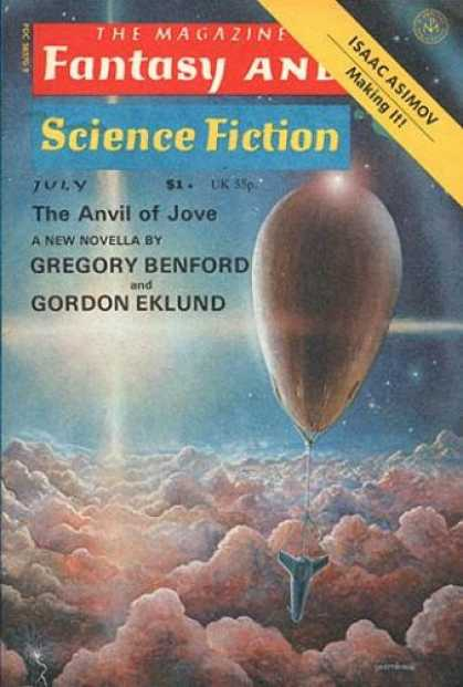 Fantasy and Science Fiction 302