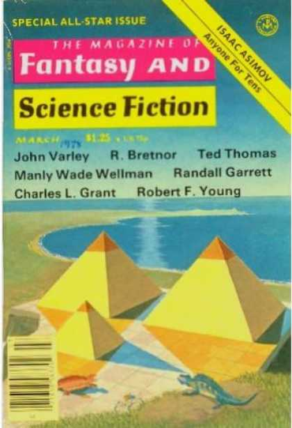 Fantasy and Science Fiction 322