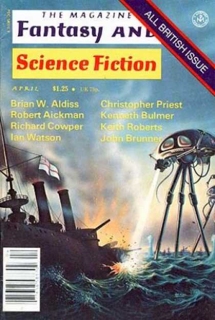 Fantasy and Science Fiction 323