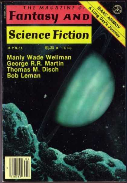 Fantasy and Science Fiction 335