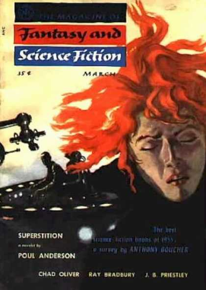 Fantasy and Science Fiction 58