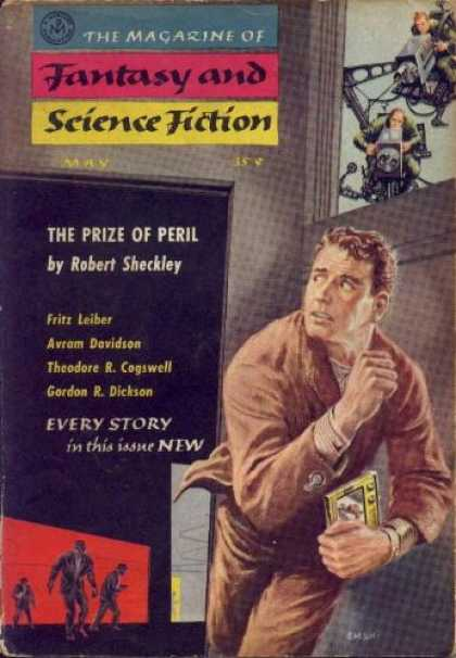 Fantasy and Science Fiction 84