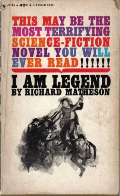 Greatest Book Covers - I Am Legend