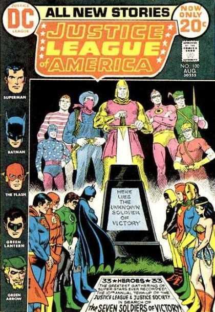 Justice League #100