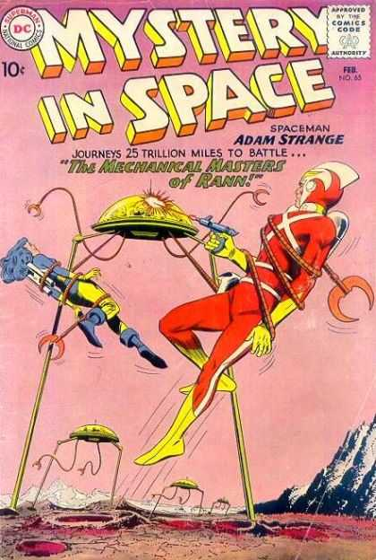 Mystery in Space 65 - Hostages - Alian Battle - Space Fight - Space War - Power Theif