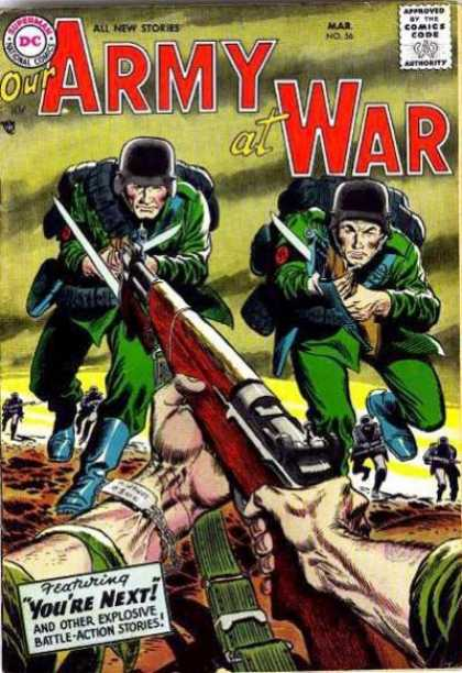 Our Army at War 56 - Joe Kubert