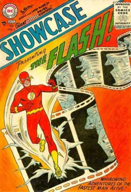 Showcase 4 - Carmine Infantino, Joe Kubert