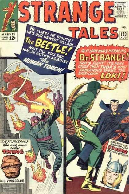Strange Tales 123 - Jack Kirby