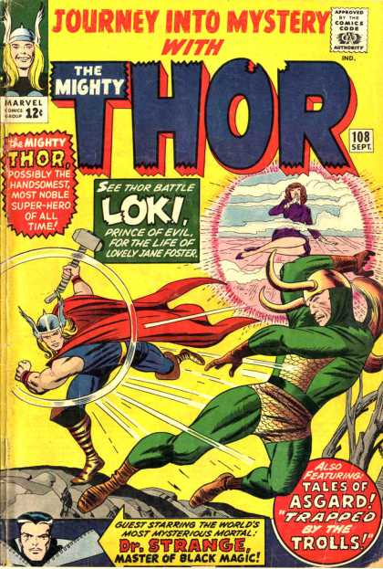 Thor 108 - Dr Strange - Thor - Marvel - Mighty Thor - Journey Into Mystery With Thor