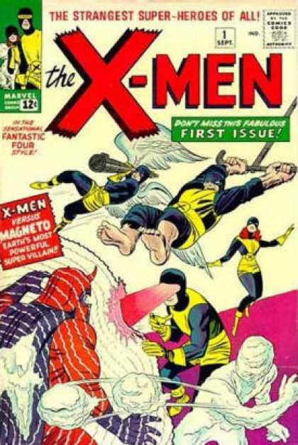 Uncanny X-Men 1 - Magneto - Cyclops - Beast - Angel - Iceman - Jack Kirby