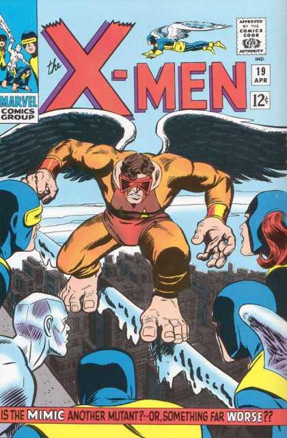 Uncanny X-Men 19 - X-men - Action - Mutant - Superhuman - Marvel - Dick Ayers, Jack Kirby