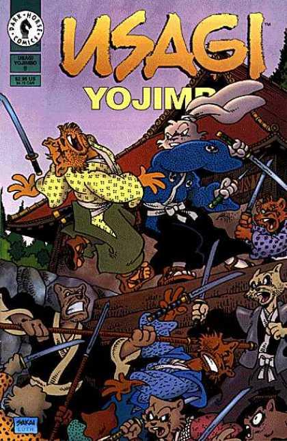 Usagi Yojimbo Dark Horse Comics
