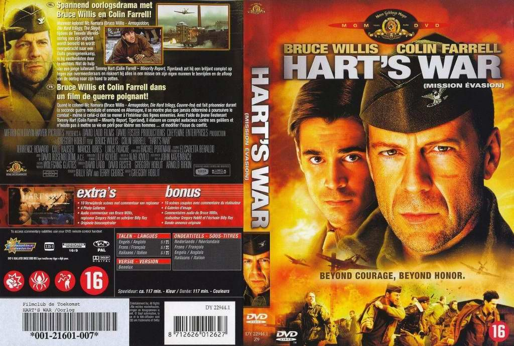 harts war dvd nl dvd covers cover