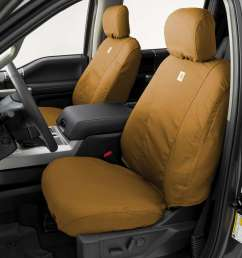 carhartt traditional fit custom seat covers seatsaver custom duck weave seat covers [ 900 x 900 Pixel ]
