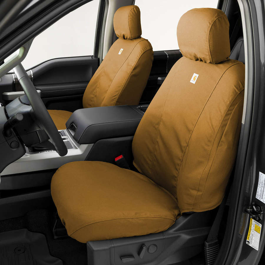 medium resolution of carhartt traditional fit custom seat covers seatsaver custom duck weave seat covers
