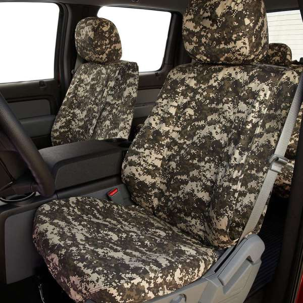 Digital Camo Custom Seat Covers - Covercraft
