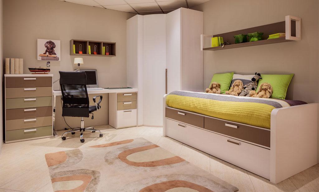 Dormitorio Juvenil en Chapa de Roble  Cover