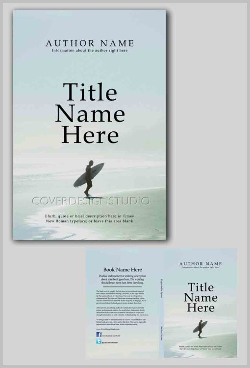 surfing cool book cover