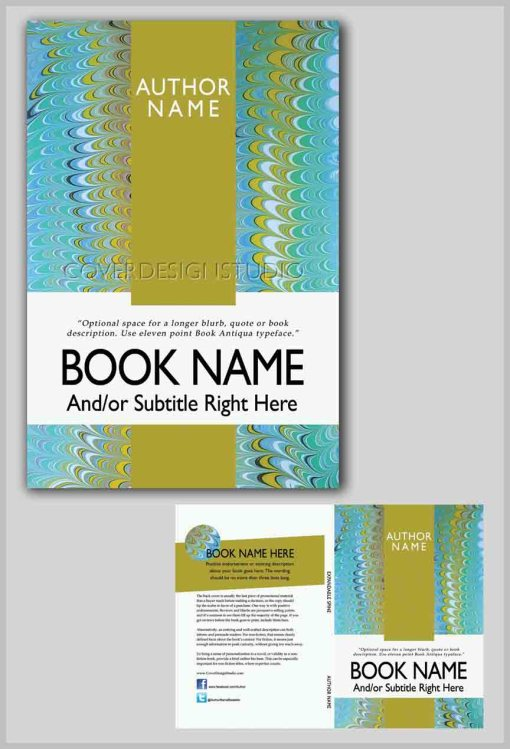 ribbon stripe book cover